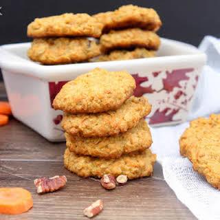 Eggless Oatmeal Carrot Cookies.