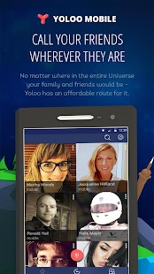 Yoloo Mobile — international calls and sms - náhled