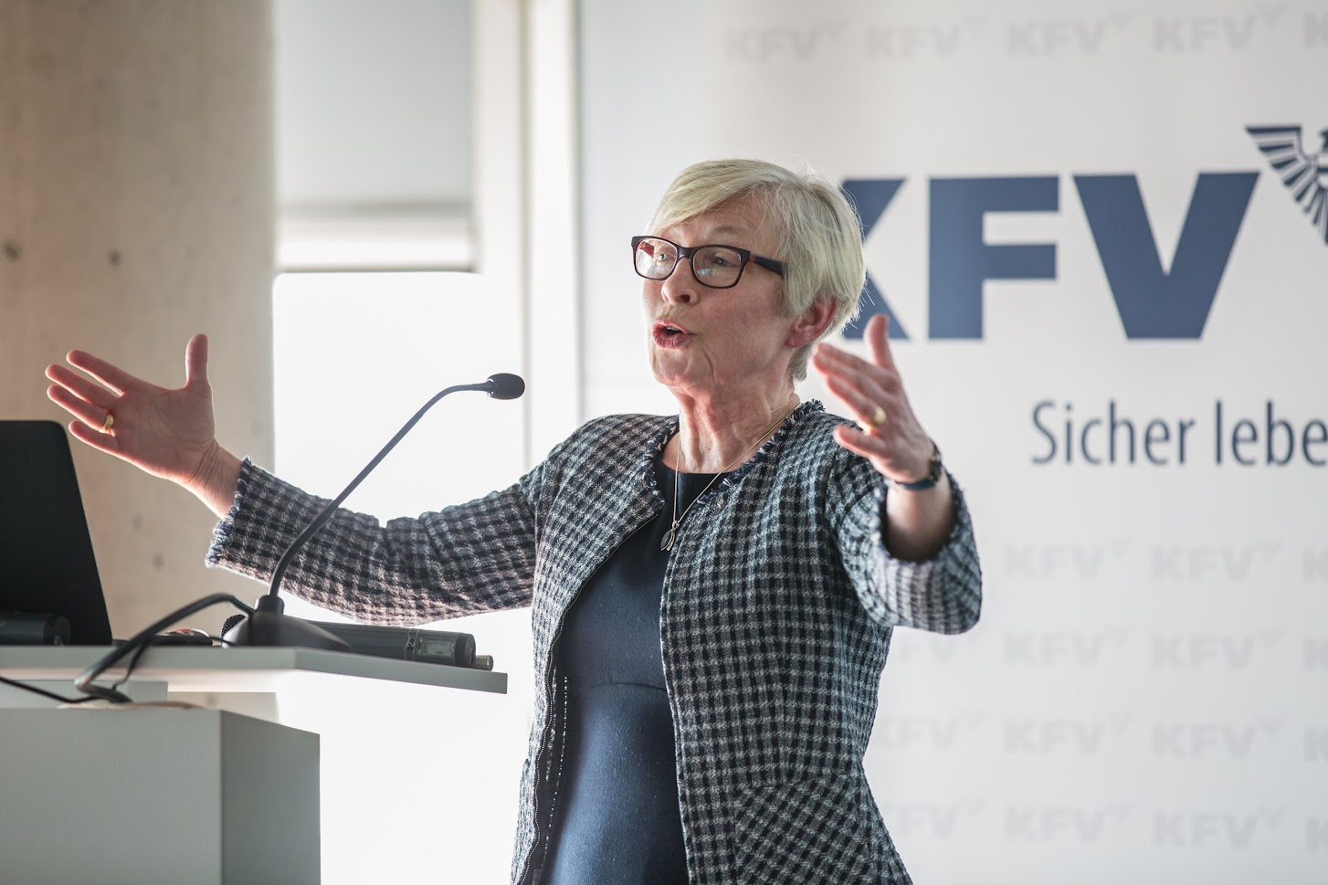 Dr. Anna Nilsson-Ehle, SAFER – Drive Sweden © KFV/APA