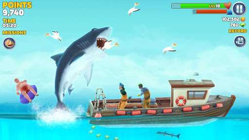 Hungry Shark Evolution screenshot 6