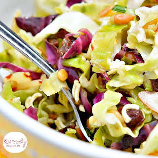 Ramen Noodle and Cabbage Salad.