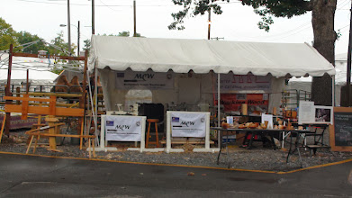 Photo: MCW Demonstration Area ready for business
