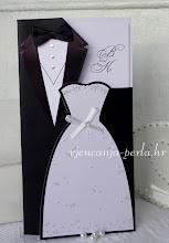 Photo: Pozivnica SUIT & DRESS Šifra: 450658 Cijena: 15,50 kn