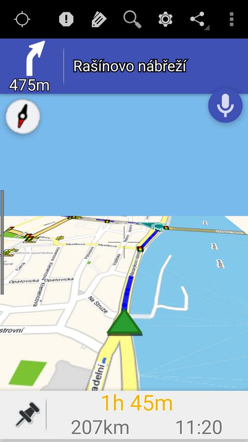 ZANavi for Android- screenshot