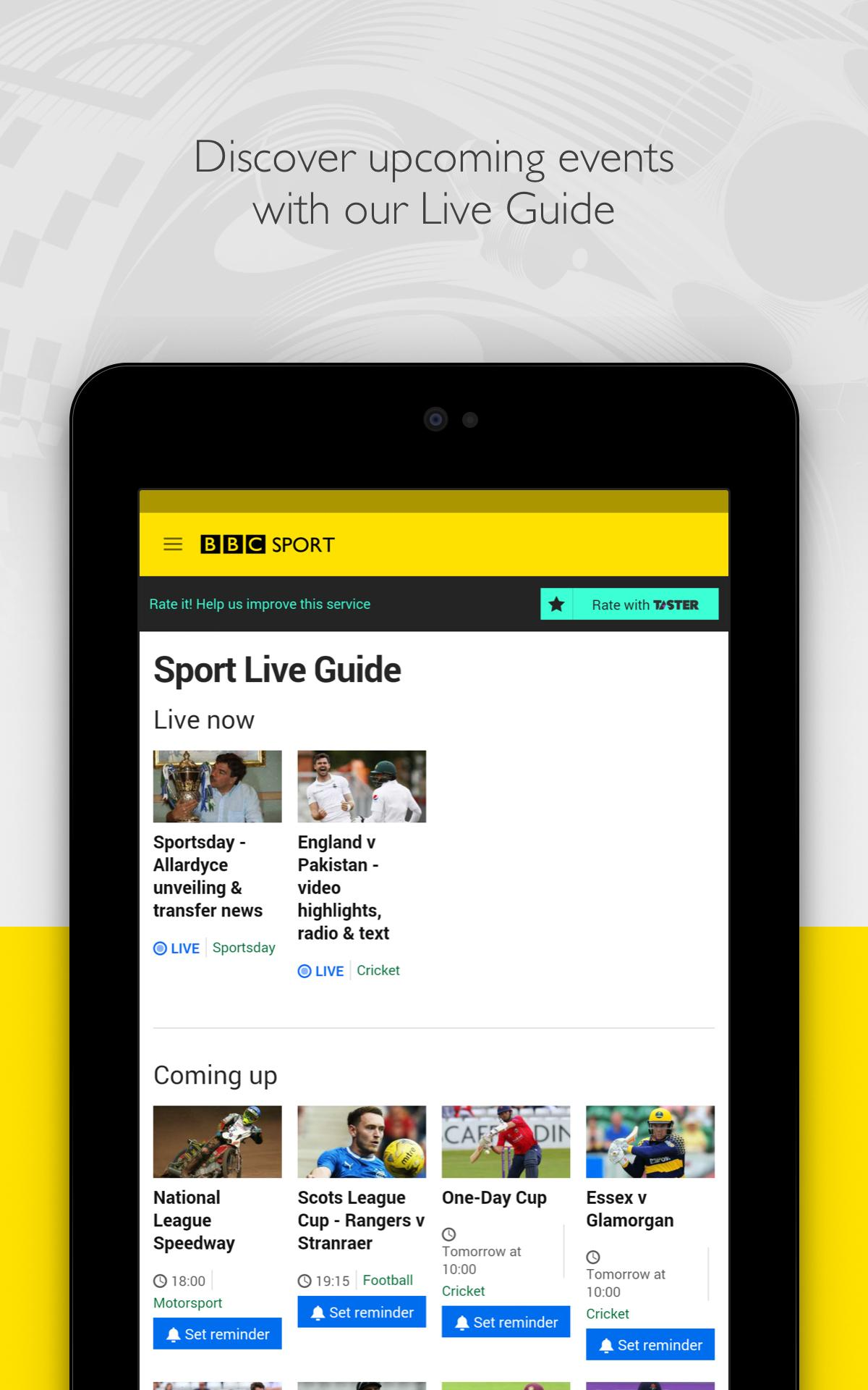 BBC Sport screenshot #19