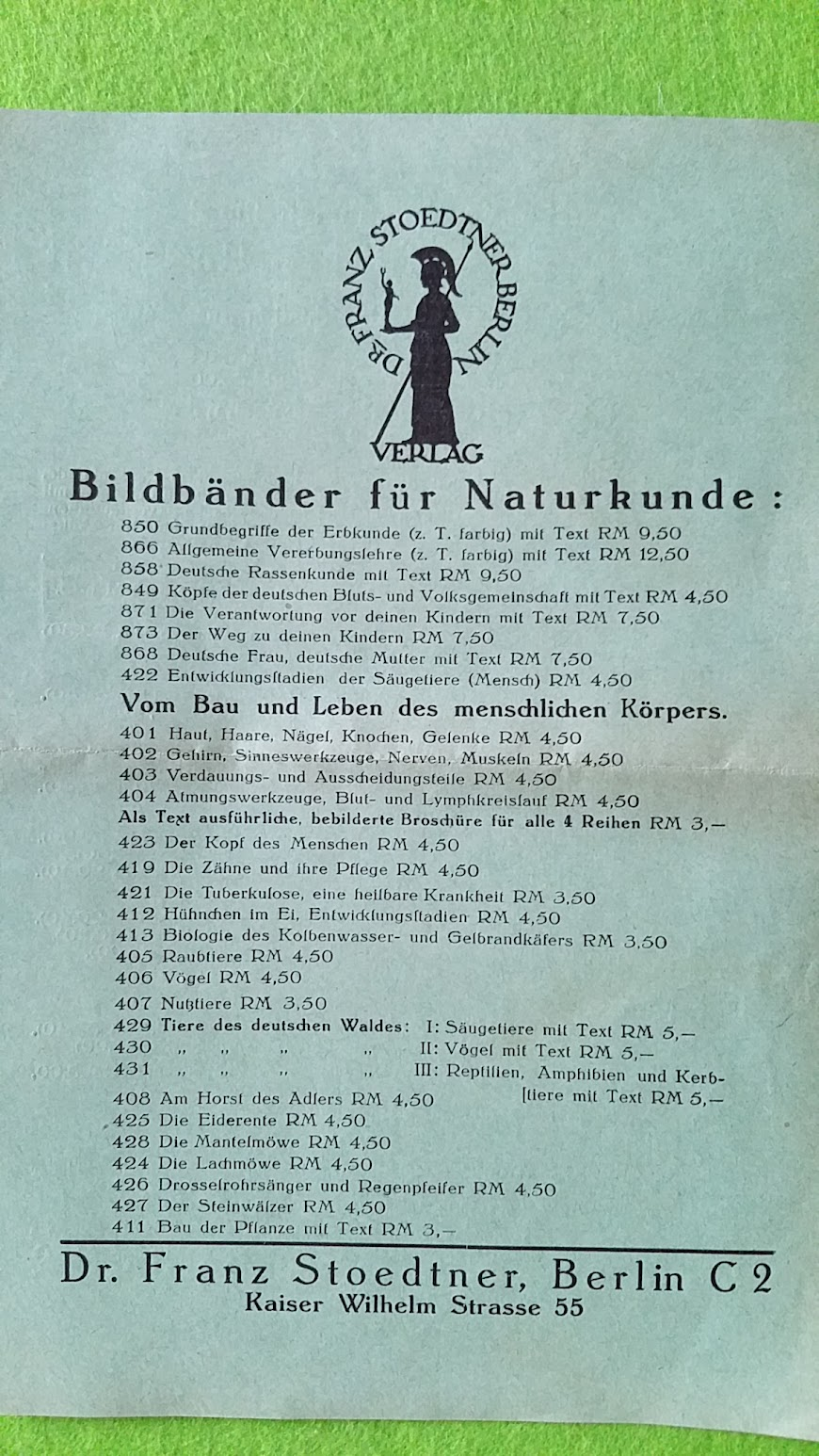 Franz Stoedtner Napola Fotoserien