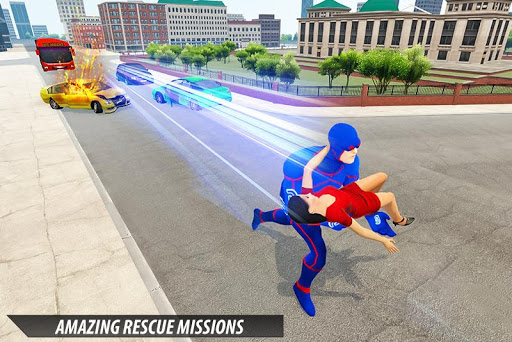 Grand Light Speed Robot Hero City Rescue Mission 1.1 screenshots 4