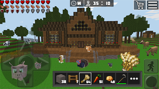 WorldCraft : 3D Build & Craft Screenshot