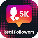 Get Real Followers & Likes for Instagram icon