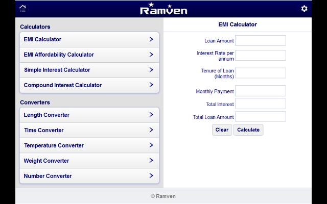 EMI Calculator - Chrome Web Store