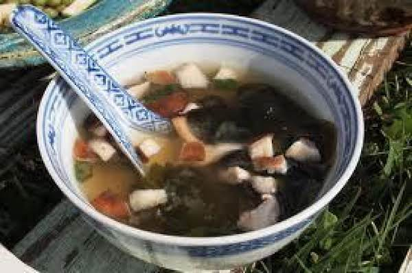 Shitake Hot And Sour Soup