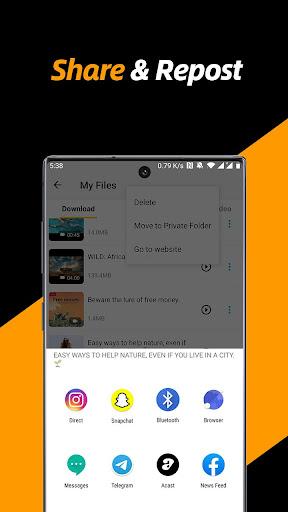 Video Downloader, Private File Downloader & Saver screenshot 5
