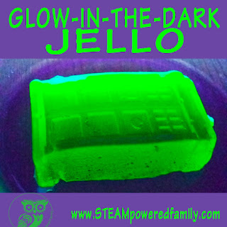Glow In The Dark Jello.