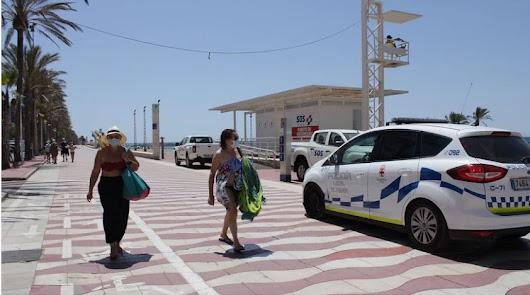 Almería suma más contagios que curados en las últimas 24 horas