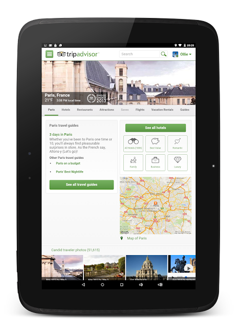 #15. TripAdvisor Hotels Restaurants (Android)