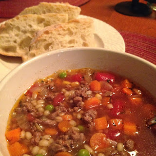 Mom's Vegetable Beef Barley Soup