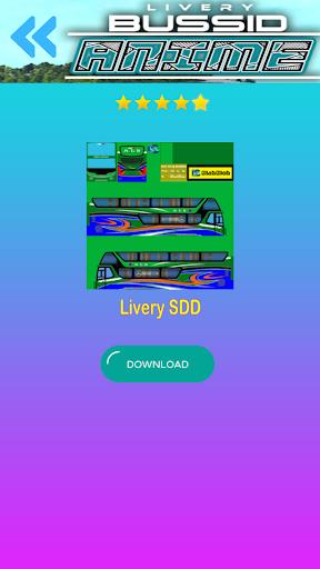 Livery Anime Bussid 1.2 screenshots 4