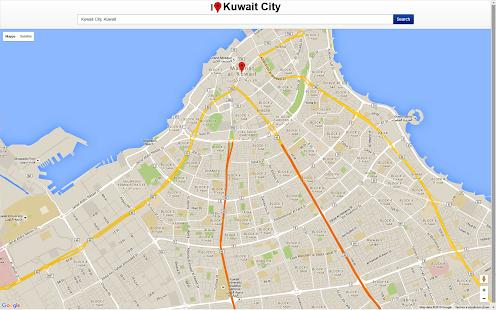 World Map Kuwait City.  Kuwait City Map screenshot thumbnail Android Apps on Google Play