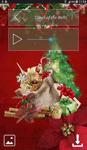 android Christmas Hymns Holiday Themes Screenshot 14