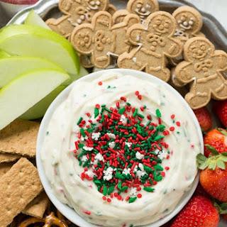 Christmas Cookie Dough Dip Recipe