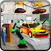Gas Station & Car Service Mechanic Tow Truck Games