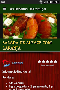 As Receitas de Portugal- screenshot thumbnail