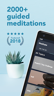 Simple Habit - Guided Meditation and Relaxation Screenshot