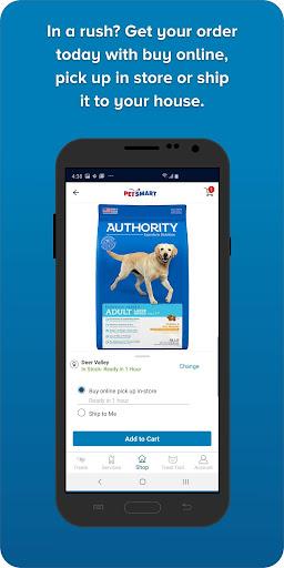 PetSmart android2mod screenshots 2