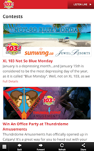 XL 103 FM- screenshot thumbnail