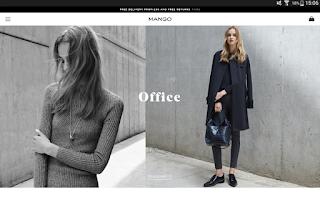 Screenshot of MANGO