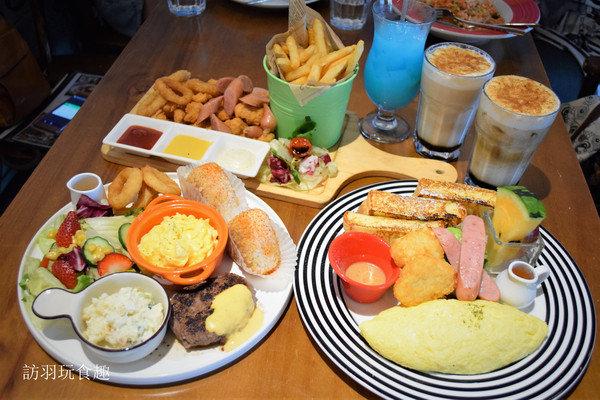 Ville Cafe公館商圈質感豐盛早午餐/無服務費