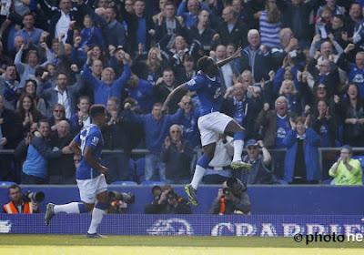 L'égalisation de Lukaku dans le derby de la Mersey