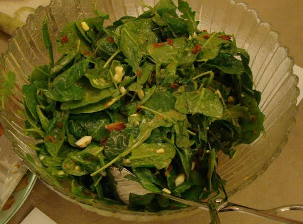 Spinach & Arugula Salad Recipe