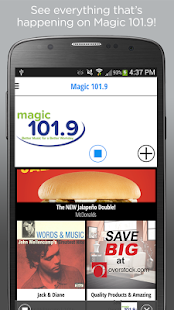 Magic 101.9 - Better Music- screenshot thumbnail