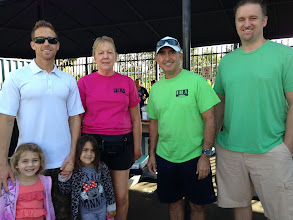 Photo: The IBA-SFV made a difference in Panorama City by participating in a city clean up on Saturday September 27, 2014  Left to Right:  President Derek Ross with daughters Ellie and Molly Executive Director, Marian Jocz Board Member, Fred Weston Booster Member, Brian Collins with Compass & Gorst Insurance