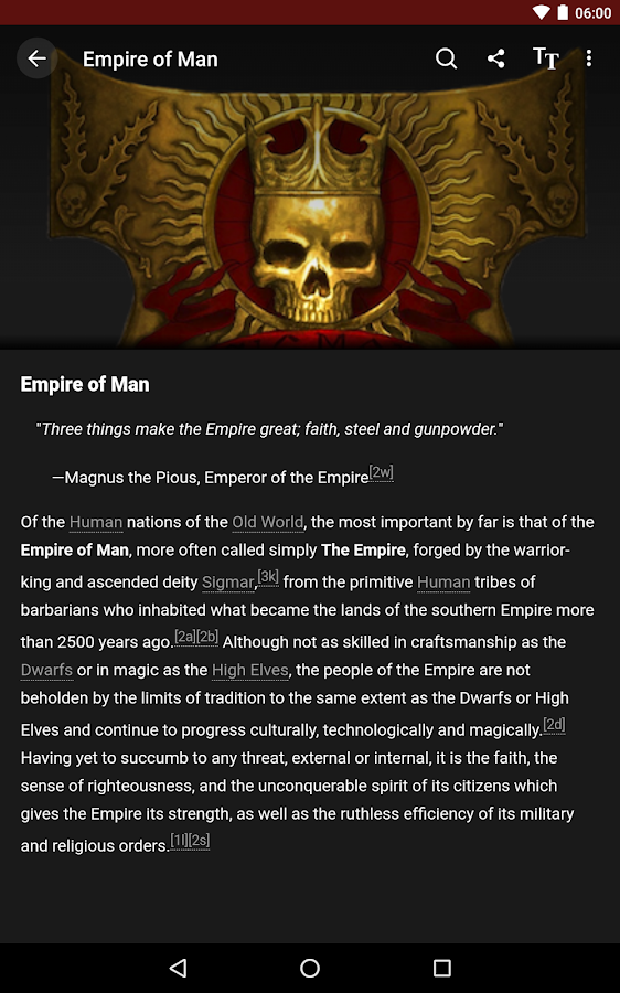 FANDOM for: Warhammer Fantasy: captura de pantalla