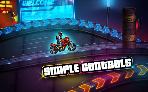 Bike Race Speed Racer Of Night City Android Apps On Google Play