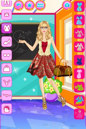 High School Dress Up For Girls 1.0.6 screenshots 4