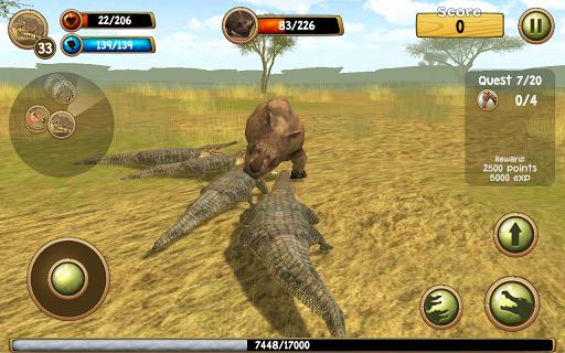 Wild Crocodile Simulator 3D apkpoly screenshots 3