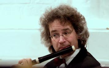 "Photo: Musiker des Barockorchester ""Musica Baltica"" mit barocker Traversflöte in Rostock"