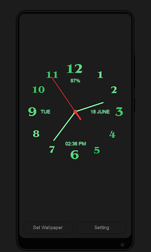 Download Analog Clock Live Wallpaper Free For Android Download
