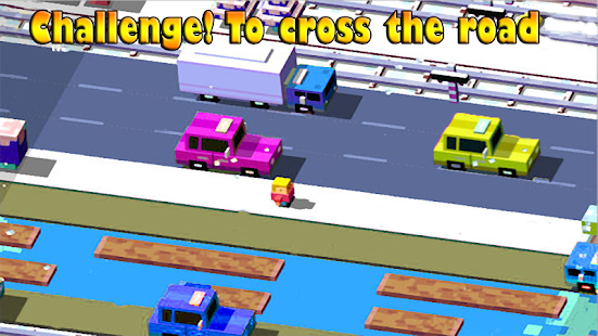 Cross Road frog simulator - náhled
