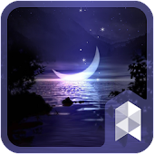 Moon And Star launcher theme
