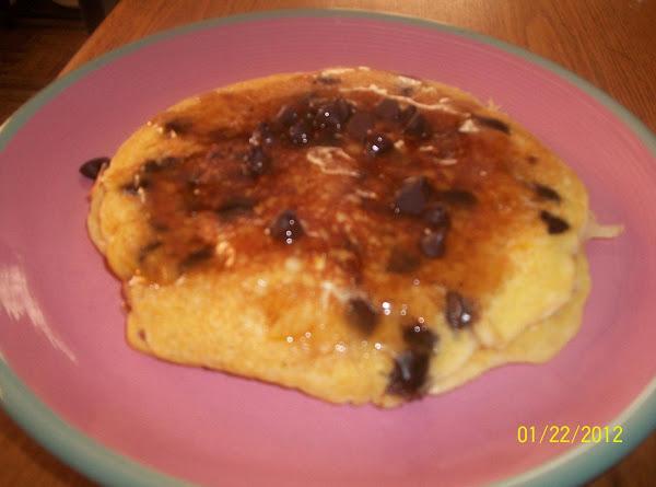 Orange-chocolate Chip Buttermilk Pancakes Recipe