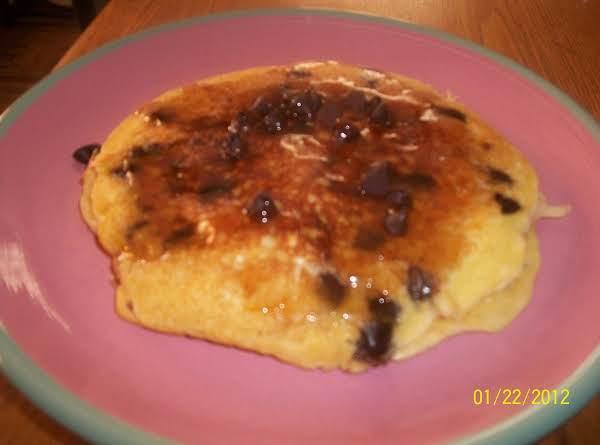 Orange-chocolate Chip Buttermilk Pancakes