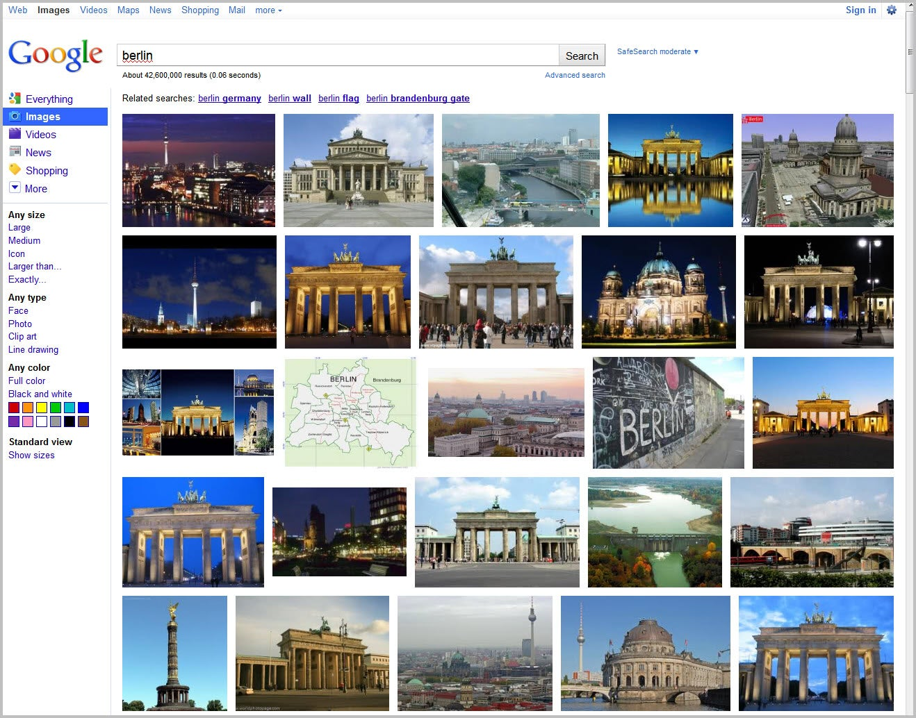 Google Image Search Full