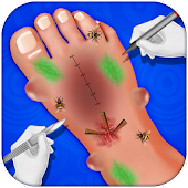 Kids Foot Doctor Hospital : Little Patient Game