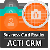 Business Card Reader Act! CRM
