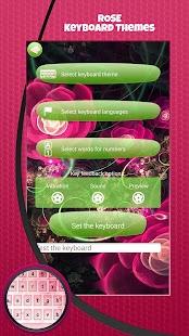 Růže Klávesnice Témata - náhled