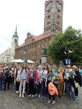 Photo: Toruń- pomnik Kopernika